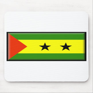 Sao Tome and Principe Flag Mouse Mats