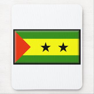 Sao Tome and Principe Flag Mouse Pad
