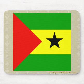 Sao Tome And Principe High quality Flag Mouse Pad