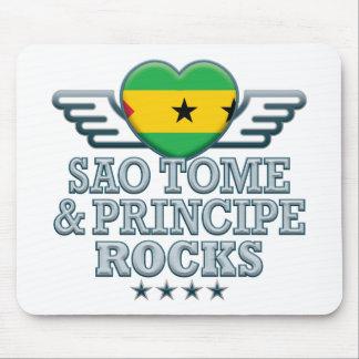 Sao Tome and Principe Rocks v2 Mousemat