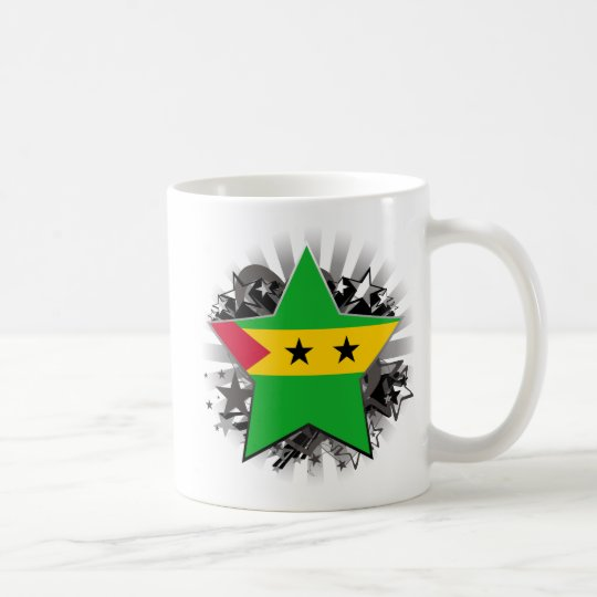 Sao Tome and Principe Star Coffee Mug