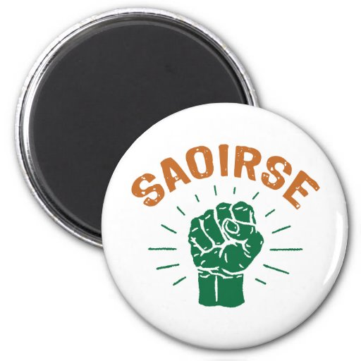Saoirse 6 Cm Round Magnet