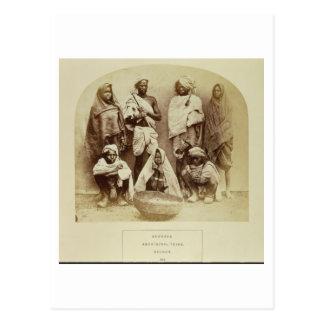 Saonras, an Aboriginal Tribe from Saugor, Central Postcard