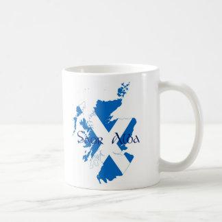 Saor Alba - Free Scotland Basic White Mug
