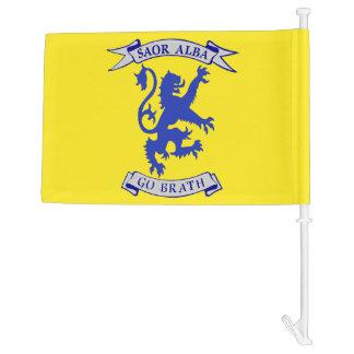 Saor Alba Gu Brath Scottish Independence Car Flag