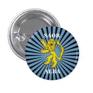 Saor Alba Lion Rampant Scotland Pinback Pinback Buttons