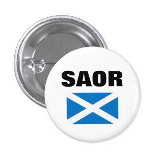 Saor Gaelic Free Scotland Saltire Pinback Pins