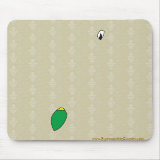 Saotome And Principe Flag Map full size Mouse Pad