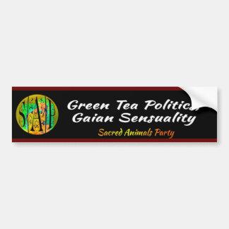 SAP - Green Tea Politics Bumper Sticker
