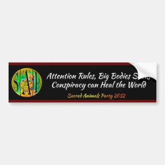 SAP - Primary Memes Car Bumper Sticker