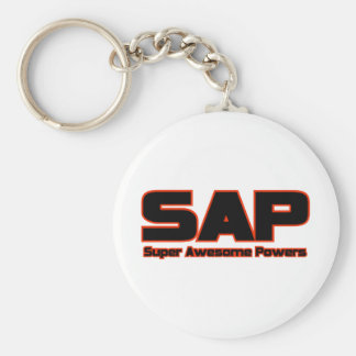 SAP - Super Awesome Powers Basic Round Button Key Ring
