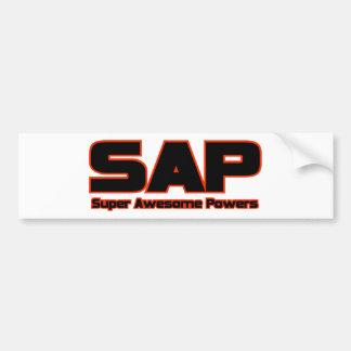 SAP - Super Awesome Powers Bumper Sticker