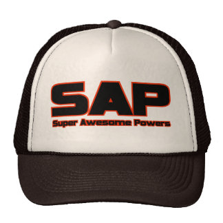 SAP - Super Awesome Powers Cap