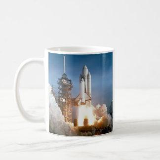 Sapce Shuttle Launch Coffee Mug