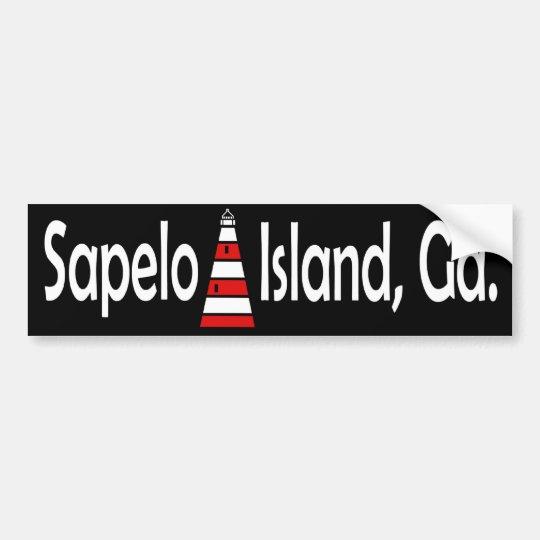 Sapelo Island Bumper Sticker