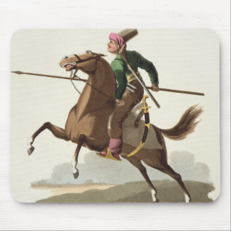 Saphir, from 'Costumes of the Various Nations', Vo Mouse Pad