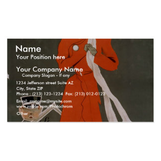 Sapho Vintage Theater Pack Of Standard Business Cards