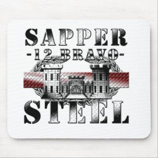 SAPPER 12B STEEL MOUSE PADS