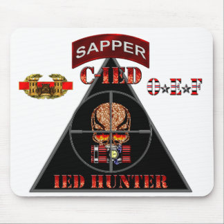 SAPPER Counter IED C-IED OEF Mouse Pad