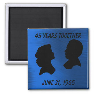 SAPPHIRE ANNIVERSARY-MAGNET MAGNET
