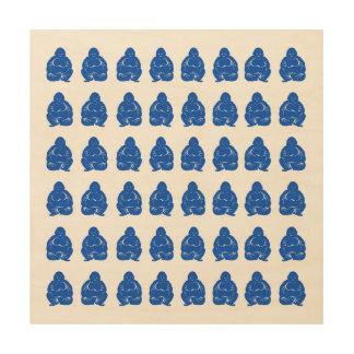 Sapphire Asian Moods Buddah Boys Wood Print