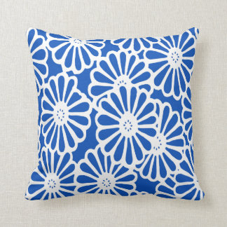 Sapphire Asian Moods Floral Cushion