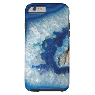 Sapphire Blue Agate Geode iPhone 6 case