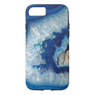 Sapphire Blue Agate Geode iPhone 7 case
