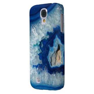 Sapphire Blue Agate Geode Samsung Galaxy S4 Case