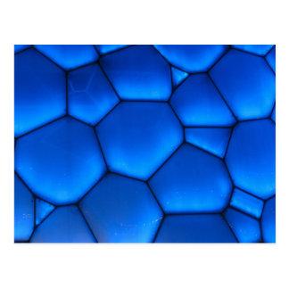 Sapphire Blue Dragon Scale Postcard