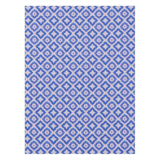 Sapphire Blue Swirl  Renaissance Tablecloth