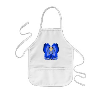 Sapphire Butterfly Princess Apron