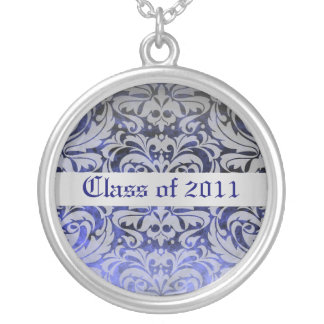 Sapphire Damask Class of Graduation Necklace