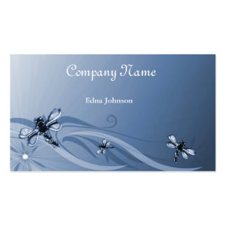 Sapphire Dragonflies Business Card
