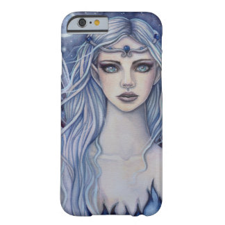 Sapphire Fairy Mystical Fantasy Art Barely There iPhone 6 Case
