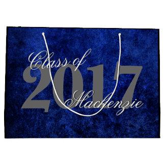 Sapphire Grad | Blue Royal Cobalt Azure Year Large Gift Bag