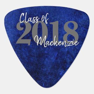 Sapphire Grad | Royal Cobalt Blue | Party Theme Guitar Pick