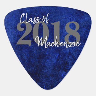 Sapphire Graduation | Blue Class of 2018 Party Guitar Pick
