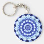 Sapphire Kaleidoscope Key Chain