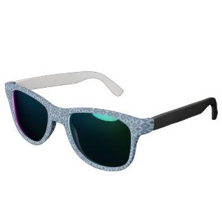 Sapphire Kaleidoscope Pattern Sunglasses