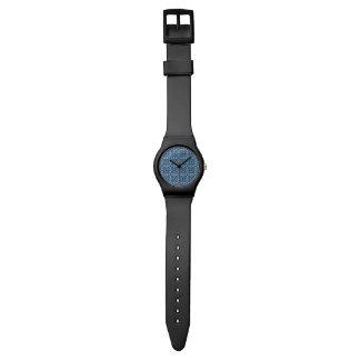 Sapphire Kaleidoscope Pattern Wristwatches