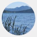 Sapphire Landscape Sticker