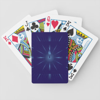 sapphire minute bicycle playing cards