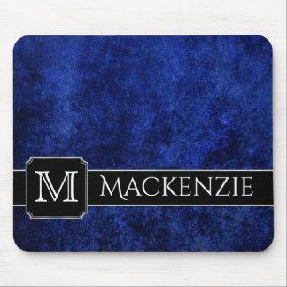 Sapphire Office   Name Azure Royal Cobalt Blue Mouse Mat