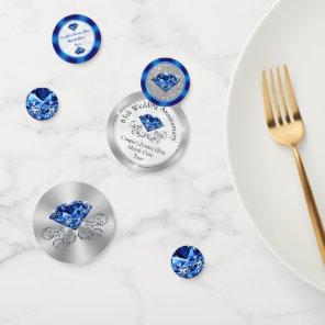 Sapphire Personalised 65th Anniversary Confetti