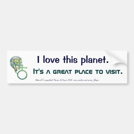 Sapphire Terra Bumper Stickers