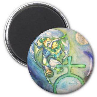 Sapphire Terra Magnet