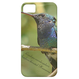 Sapphire-throated Humming iPhone 5 Cases