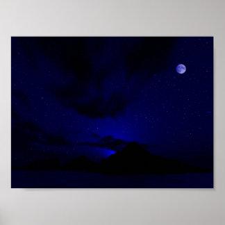 Sapphire Twilight Poster