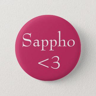 Sappho <3 6 cm round badge